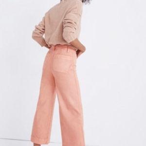 NWOT Madewell Emmett High Waisted Wide leg pants